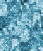 Art abstract background, seamless pixelated pattern Stock Illustration