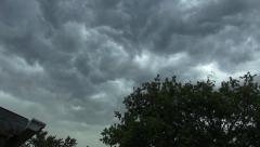 Storm Clouds Rolling In Stock Footage