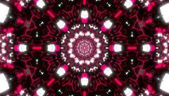 VJ Loop Kaleidoscope 15 - stock footage