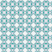Background with Seamless Pattern. - stock illustration