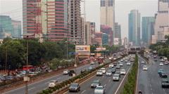 Jakarta traffic Stock Footage