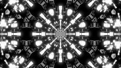 VJ Loop Kaleidoscope 19 - stock footage