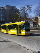 Tram in Pilsen - stock photo