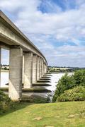 Orwell Bridge - stock photo
