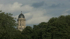 View of the Altes Stadthaus's dome in Berlin Stock Footage