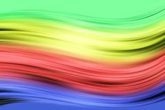 background with colored stripes - stock photo