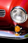 Stock Photo of Car headlight