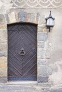 Stock Photo of Old medieval door