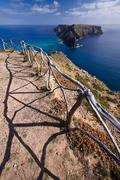 Viewpoint in Madeira islands Stock Photos