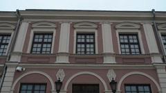 Lublin Castle, Poland Stock Footage