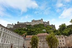 Stock Photo of Castle Hohensalzburg, Salzburg, Austria