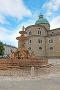 Stock Photo of Dome of Salzburg