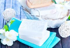 aroma soap - stock photo