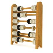 Stock Illustration of 3d toy abacus