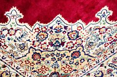 Beautiful texture of the carpet - stock photo