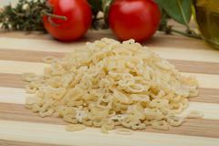 ABC macaroni - stock photo
