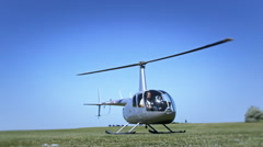 Helicopter flight Stock Footage
