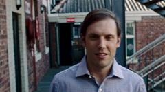 Business man portrait - stock footage