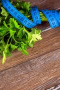 Parsley and Measurement Stock Photos