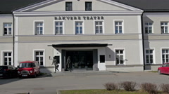 The Rakvere Teater in Estonia Stock Footage