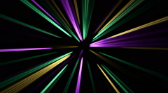 Colorful straight lines Stock Footage