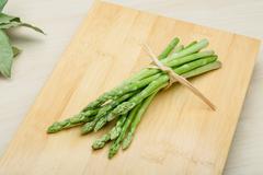 Asparagus - stock photo