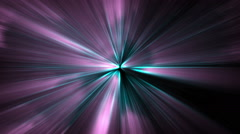 Violet rays of light Stock Footage