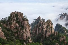 Mt. Huangshan - stock photo