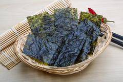 Nori sheets Stock Photos