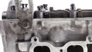 Stock Video Footage of real used car motor head