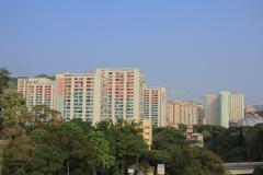 Public house at  Shun Lee Estate hk Stock Photos