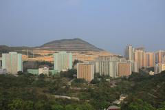 Shun Lee district, kwun tong - stock photo
