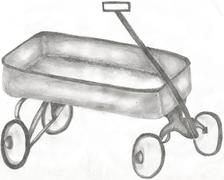 Wagon Stock Illustration
