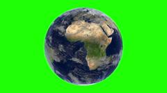 GLobe green screen - stock footage