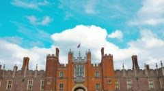 London, Hampton Court Palace Stock Footage