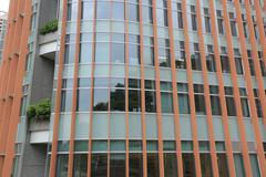 he University of Hong Kong in Pok Fu Lam - stock photo