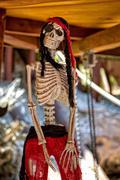Pirate skeleton Stock Photos