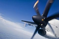 Plane Propeller - stock photo