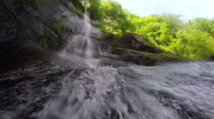 Waterfall Mahuntseti 5 Stock Footage
