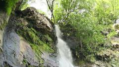 Waterfall Mahuntseti 9 Stock Footage