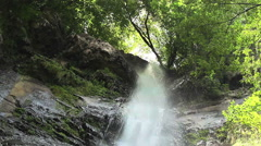 Waterfall Mahuntseti 8 Stock Footage
