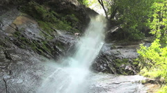 Waterfall Mahuntseti 6 Stock Footage