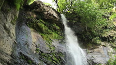 Waterfall Mahuntseti 17 Stock Footage