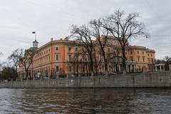 Street views of Saint Petersburg. - stock photo