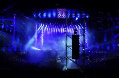 Live concert Stock Photos