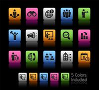 Business Opportunities and Strategies -- ColorBox Series - stock illustration