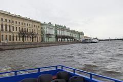Street views of Saint Petersburg. Stock Photos