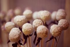 Delicious cake pops - stock photo