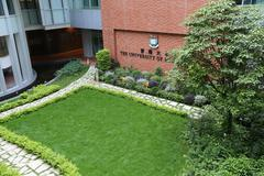 The University of Hong Kong in Pok Fu Lam - stock photo