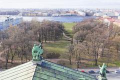 Street views of Saint Petersburg. Stock Photos